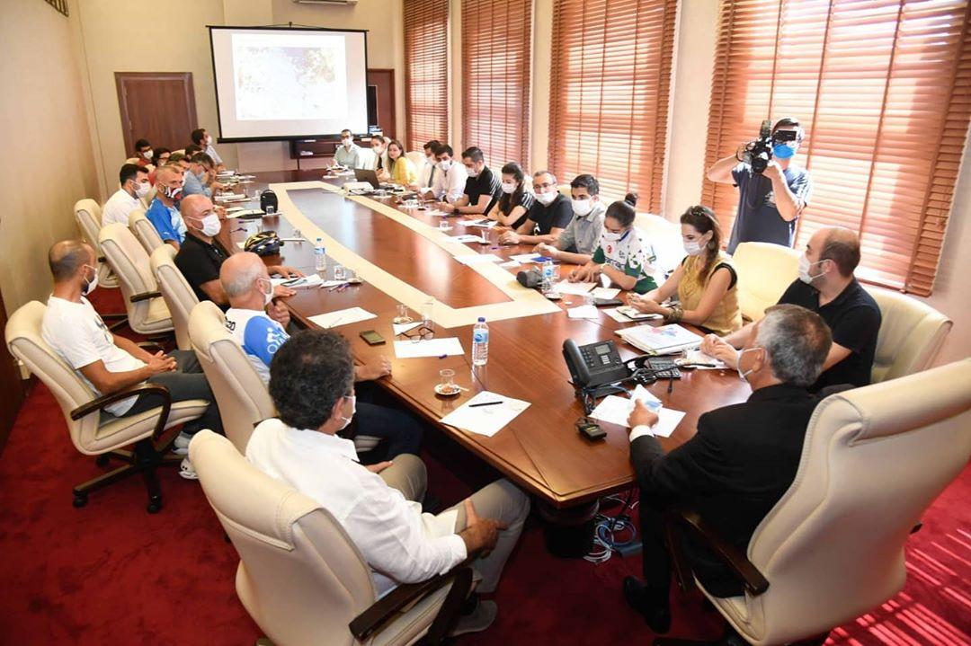 Bisiklet Topluluklarıyla Toplantı