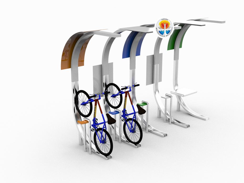 Bisiklet Park Yeri Tasarımları